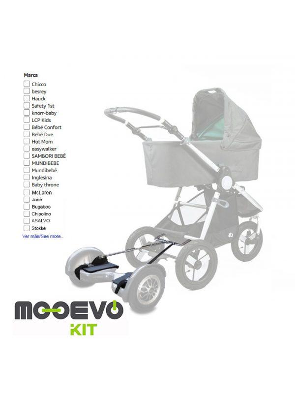 carrito de bebe con motor