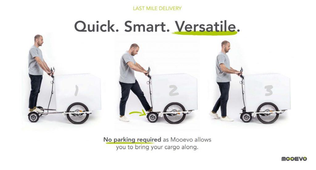 Ver patinetes electricos logistica carros jaulas distribucion