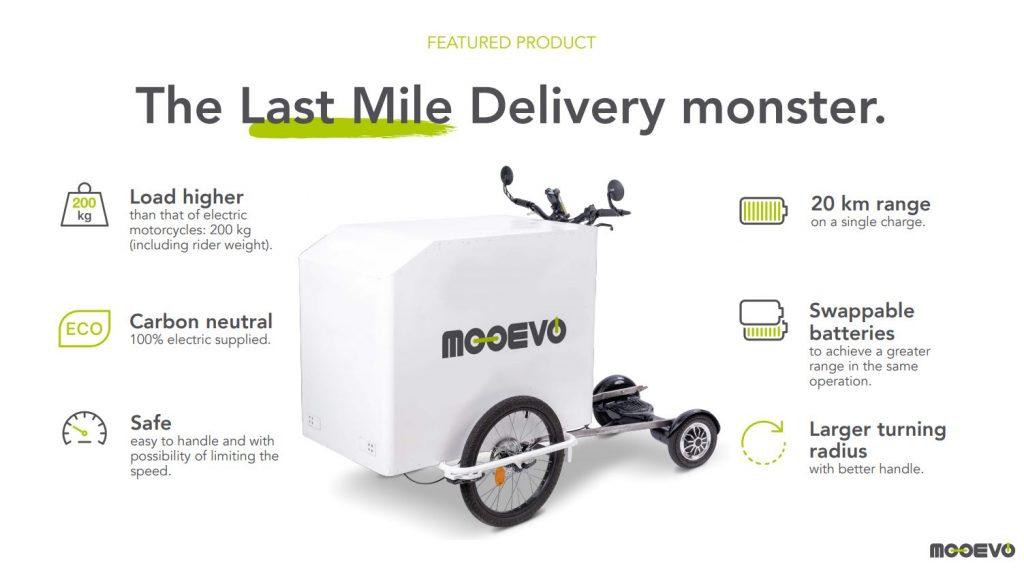 last mile delivery monster