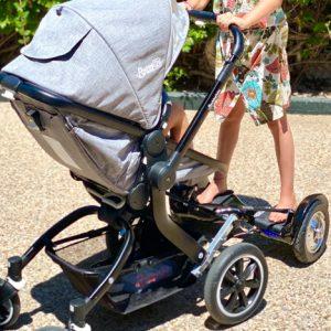 Ver patinete electrico para carrito de bebe hoverboard con motor