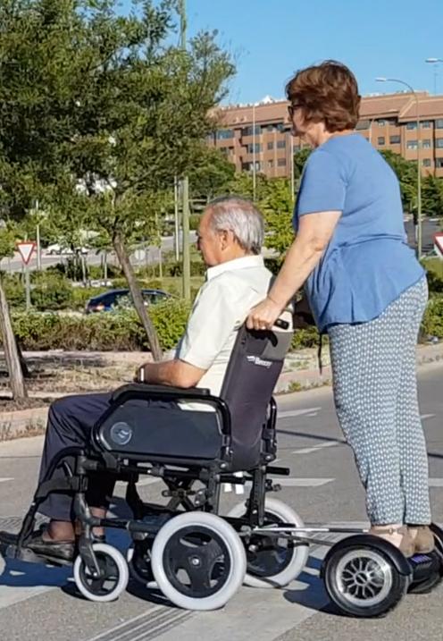 Ver patinete electrico silla ruedas