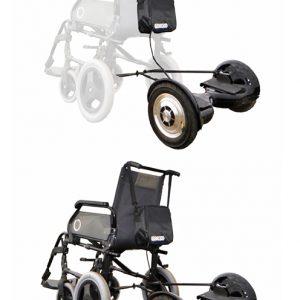 Ver silla de ruedas para patinete electrico