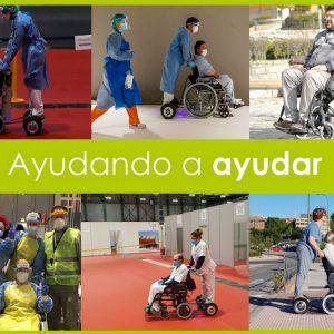 silla ruedas hospitales