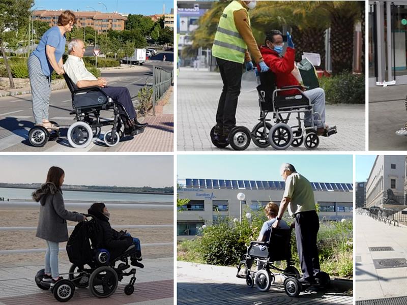 nuevos inventos para sillas de ruedas