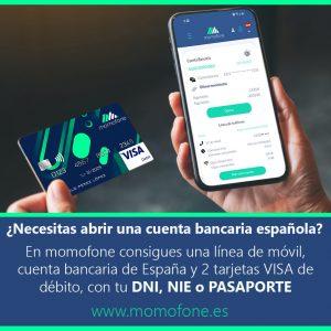 abrir cuenta bancaria española con pasaporte no comunitario