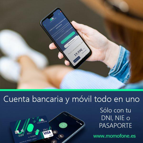 movil y cuenta banco