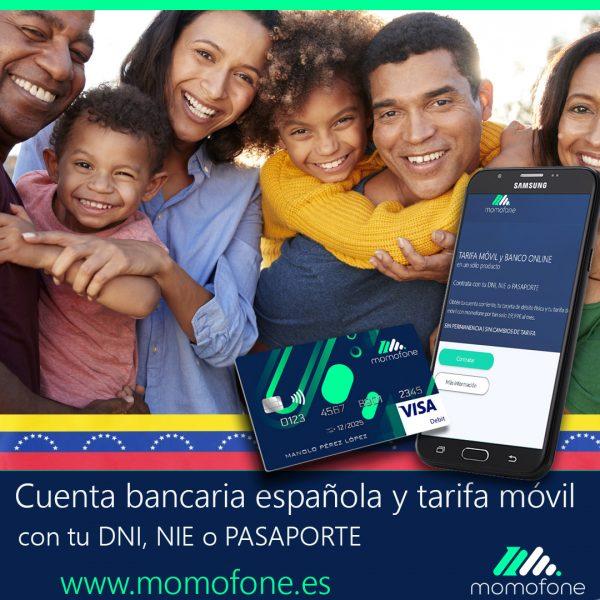 cuenta banco españa venezuela