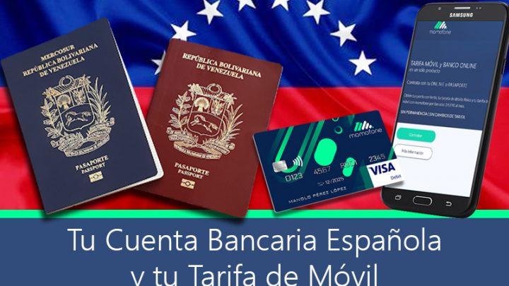 cuenta bancaria española pasaporte venezuela