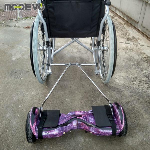 Ver adaptador motor silla de ruedas manual