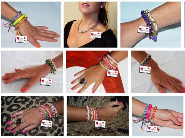 las pulseras de las famosas para el verano