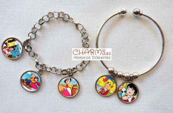 pulsera de moda dibujos animados personajes