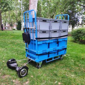 Vehiculo eléctrico contenedor Roll Container Mooevo Vila