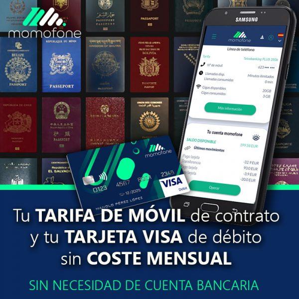 abrir cuenta bancaria pasaporte