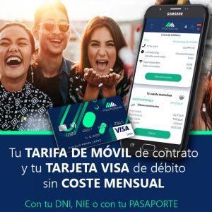 Tarifa móvil de contrato sin cuenta bancaria